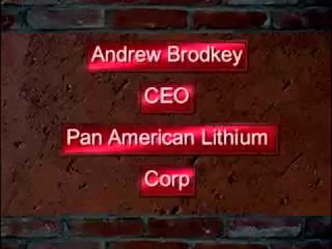 Lithium with CEO Andrew Brodkey of Pan American Lithium
