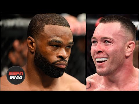 Tyron Woodley compares Colby Covington's style to a cardio kickboxer | E...