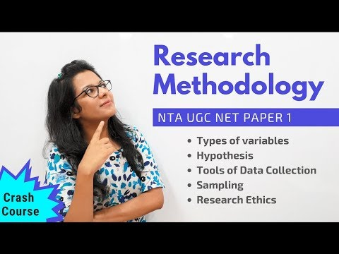 NTA UGC NET Paper 1- Research Methodology (Crash Course)