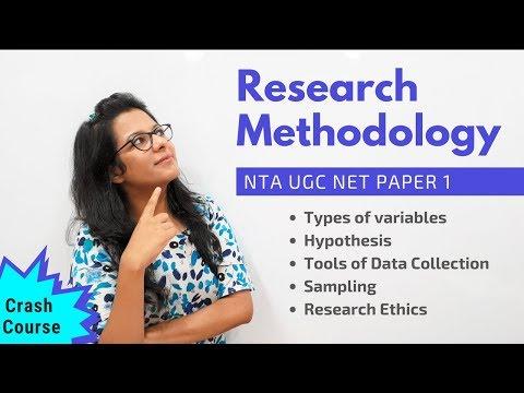 NTA UGC NET Paper 1- Research Methodology (Crash Course)