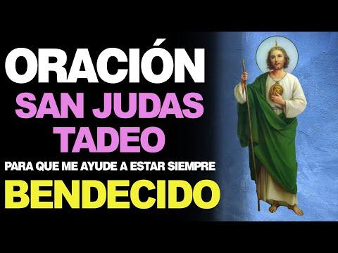 🙏 Oración Diaria a San Judas Tadeo PARA ESTAR SIEMPRE BIEN 🙇️