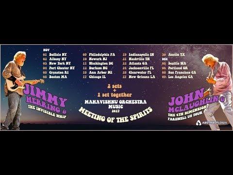 John McLaughlin + Jimmy Herring : Meeting of the Spirits Tour 2017