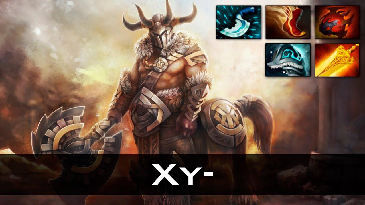 xy centaur warrunner dota 2 gameplay youtube
