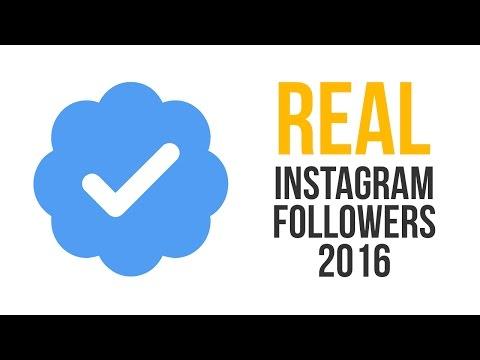 Buy Real Instagram Followers 2016