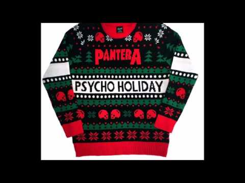 Pantera 2016 Ugly 'Psycho Holidays' sweater! - Giraffe Tongue ...