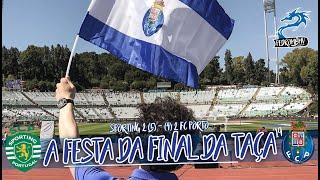 A FESTA da FINAL DA TAÇA 👉 Sporting 2 (5) - (4)  2 FC Porto