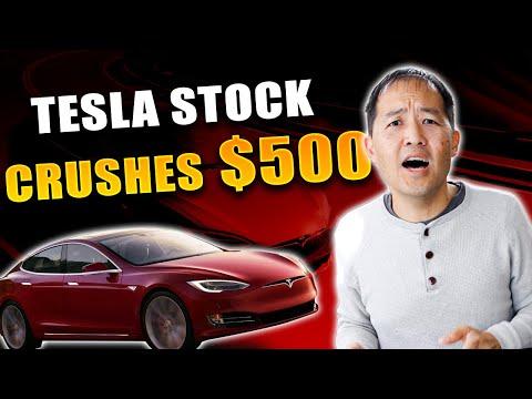 Tesla Stock Crushes 500... Why TSLA Keeps Going Up