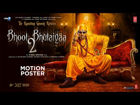 Bhool Bhulaiyaa 2 - Motion Poster Released by T Series
