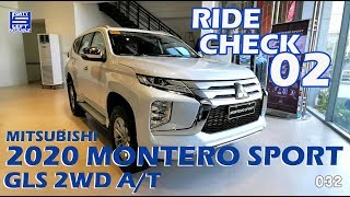 BASIC THINGS ABOUT: 2020 MONTERO SPORT GLS 2WD