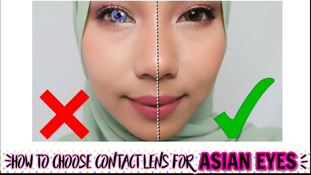 Colour asian contacts