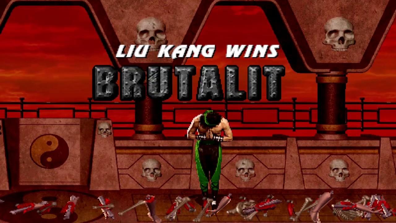 Mortal Kombat The Dragon Tournament 1 - Brutality Demonstration