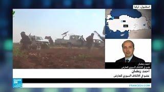 أحمد رمضان: اضطر الثوار لإنكفاء مؤقت في منطقة الكليات العسكرية بحلب