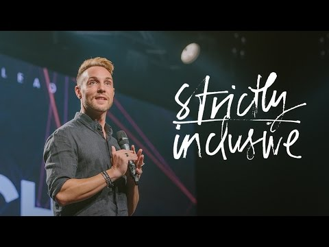 Strictly Inclusive - Ps. James Murray