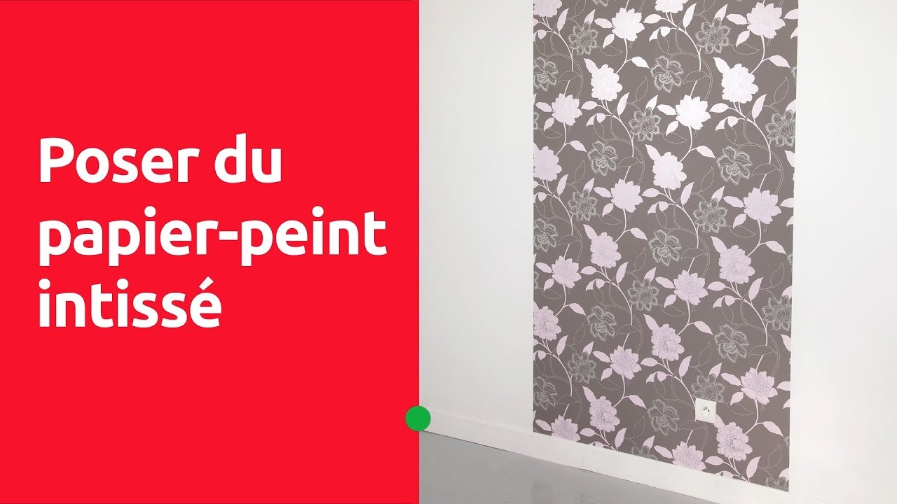 Leroy Merlin Papier Peint Salle De Bain poser du papier peint intissé