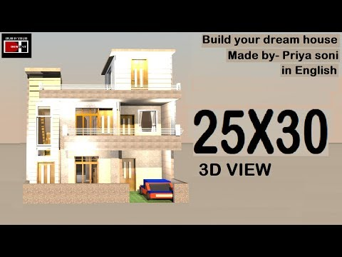 25X30 house plan inside view made by priya soni on build your dream house