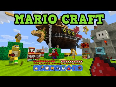 Minecraft Super Mario Mash Up QUEST