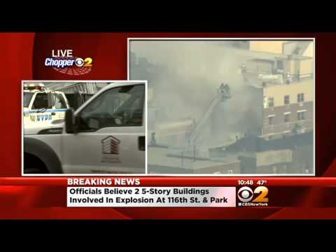 Eyewitness Describes East Harlem Explosion; Two Buildings Collapse