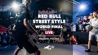 Freestyle Football Finals At Red Bull Street Style 2018 | LIVE