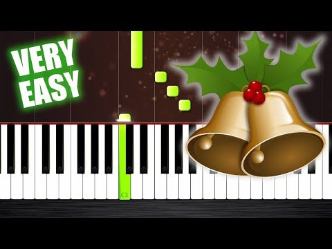Jingle Bells - Piano Tutorial but it's TOO EASY (almost everybody can play it)