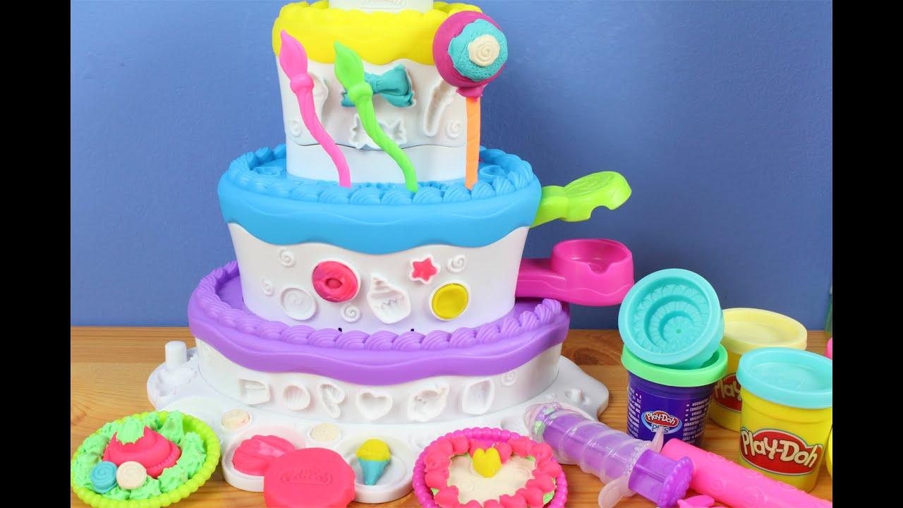 Cake Mountain Play Doh Youtube