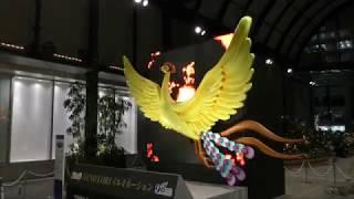新宿南口のイルミネーションと火の鳥2017年 thumbnail