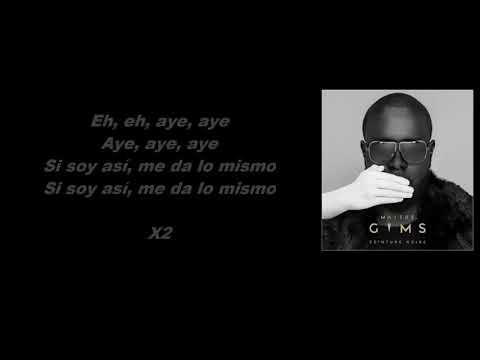 Maitre GIMS - Lo Mismo ft. Alvaro Soler / Music + Parole - Lyrics