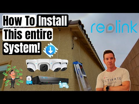 REOLINK 5MP POE DOME IP SECURITY CAMERA REVIEW - Easy Install using PoE - 5 MP Super HD with 2TB NVR
