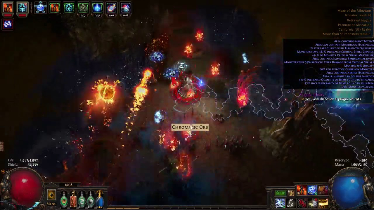Witch build - [3 7] Storm Brand Elementalist  League Starter