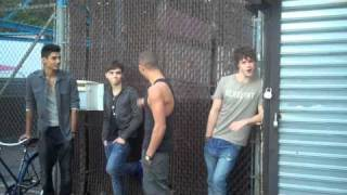 The Wanted - Behind The Scenes of