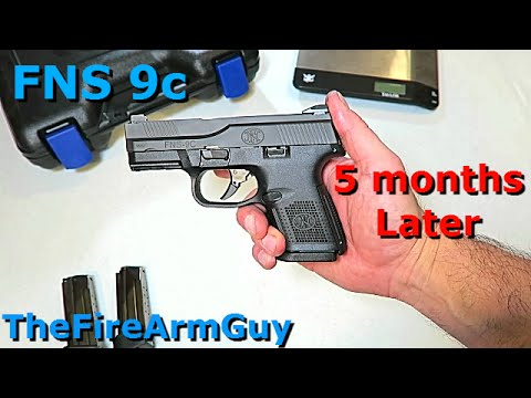 FNS 9C - 5 Months Later & What I learned - TheFireArmGuy