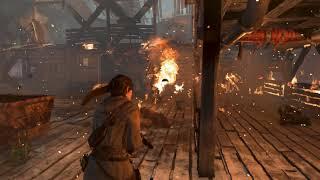 Rise of the Tomb Raider | Lara VS Monatgne