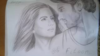 Katrina Kaif sketches. Chikni Chameli