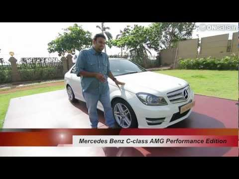 Mercedes Benz C-class AMG Performance Edition walk-around
