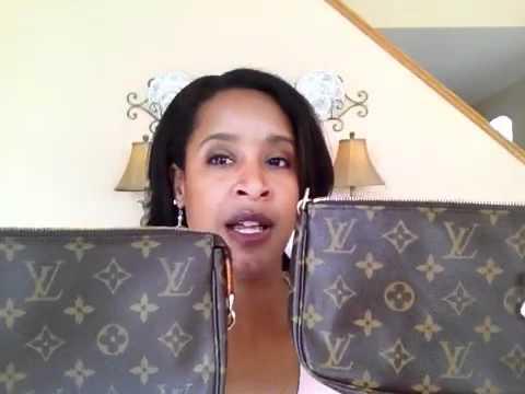 Louis Vuitton Bags  Real vs. Fake - YouTube 17ef503817ec4