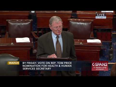 Inhofe Speaks on Senate Floor On the Importance of Bilateral Trade