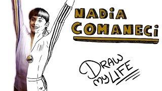 NADIA COMANECI🤸🏻♀️ | Draw My Life
