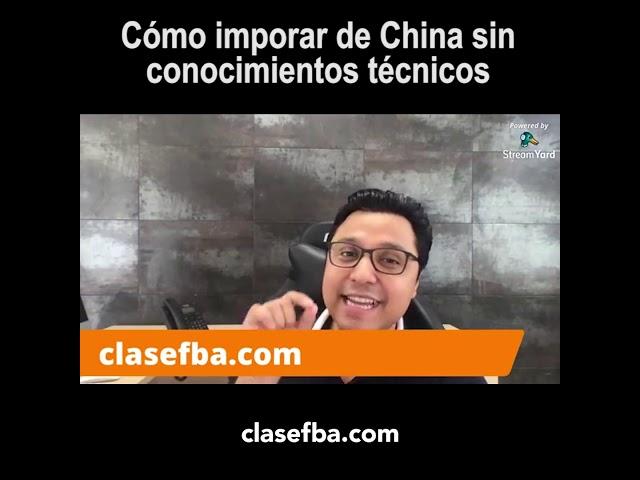 Cómo importar de China si conocimientos técnicos