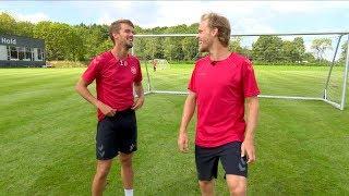 Nikolaj Ehlers i konkurrence med Lucas Andersen