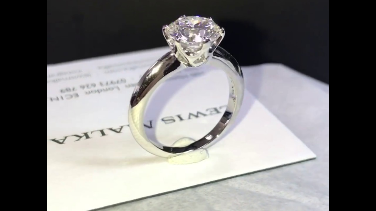 the most beautiful engagement ring in the world the tiffany classic six claw - Beautiful Wedding Rings
