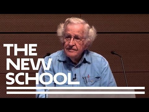 Noam Chomsky: On Power and Ideology | The New School