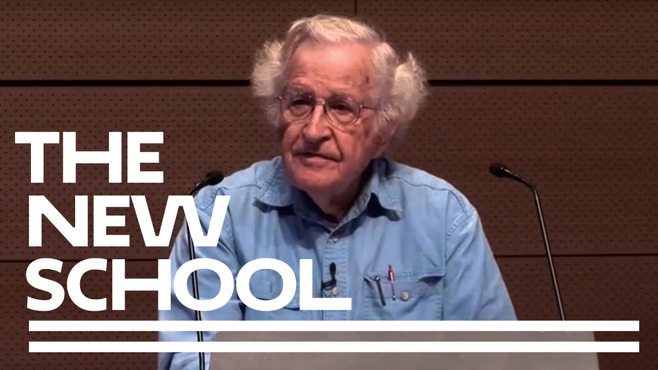 noam chomsky on power and ideology the new school