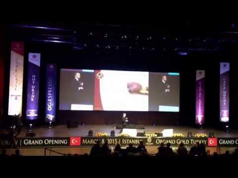 Organo Gold Turkey Istanbul - Grand Openning March 8, 2015 - Presentation