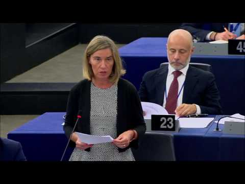 Opening statement on EU Defence plan in European Parliament