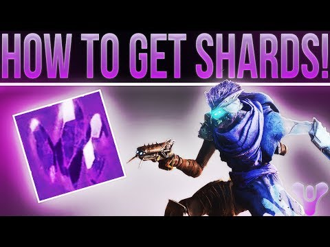 Destiny 2. How To Get Legendary Shards! (Buying Exotics From Xur With Legendary Shards.)