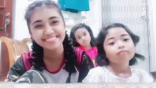 Kids try TikTok with their Aunt / the zuna family / singapore youtuber