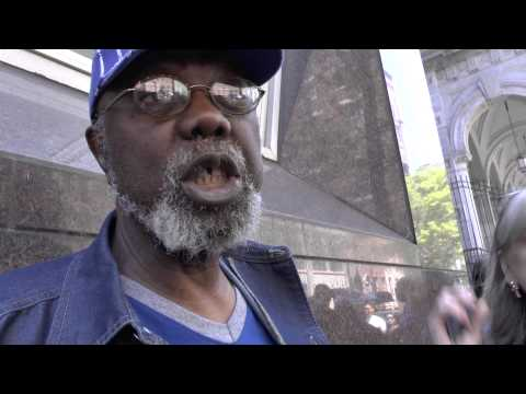 In the Line at a New York Soup Kitchen 2014