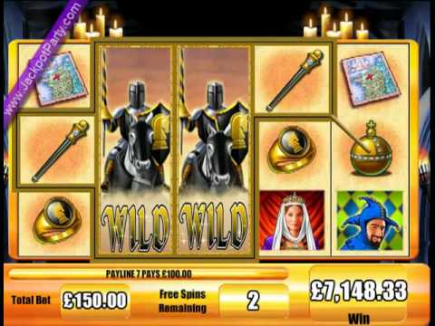 jackpot party casino black knight
