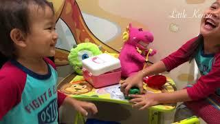 Reaksi Batita saat Pertama ke Dokter Gigi 😆 Anak Lucu belajar Mengenal Gigi