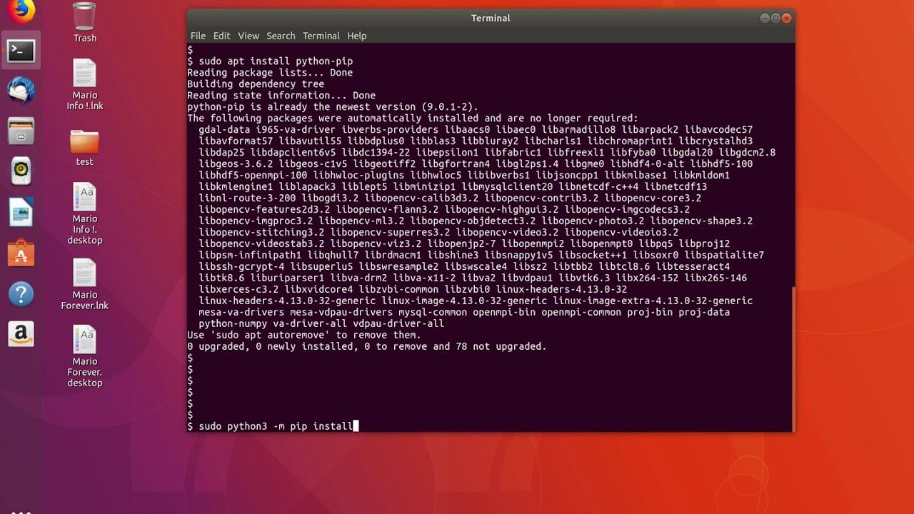 Python 3 ModuleNotFoundError: No module named numpy