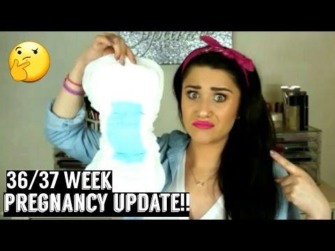 36/37 Week Pregnancy Vlog | Adult Diapers?! Doctor Felt Baby's Head? & Buy Buy Baby Haul